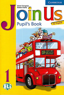 Cambridge JOIN US FOR ENGLISH 1 Pupil's Book / Class book ELi @BRAND NEW@