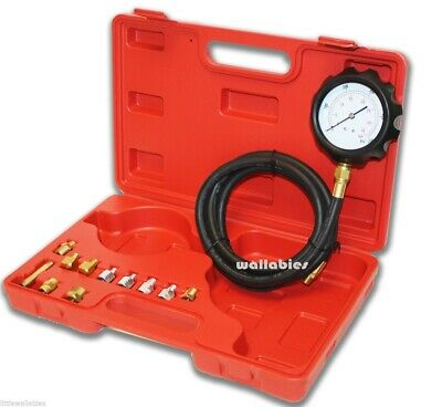 New 13PC Deluxe Automatic Transmission & Engine Oil Pressure Tester Case