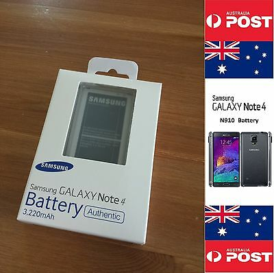 Samsung Note 4 Battery Original Genuine Australian Retail N910 EB-BN910BBE