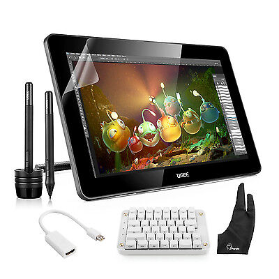 """Ugee HK1560 15.6"""" IPS HD Graphics Tablet Monitor+ Mechanical Keyboard+ Rich Gift"""