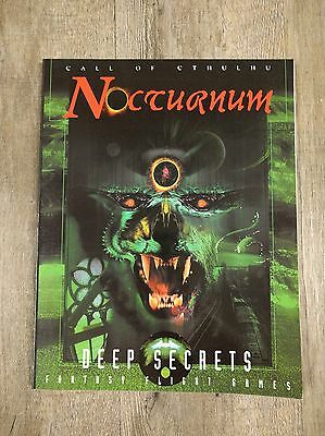 Call Of Cthulhu - Nocturnum - Deep Secrets