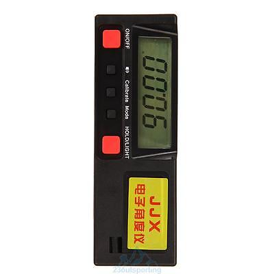 Electronic Digital Inclinometer 360° Angle Protractor Gauge Level Box Meter