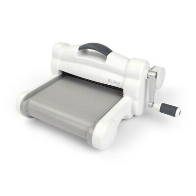 Sizzix Big Shot Plus (DIN A4) Stanz- und Prägemaschine(White & Gray) by Ellison