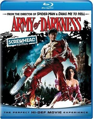 Army of Darkness [Screw Blu-ray Region A BLU-RAY/WS/Screwhead ED.