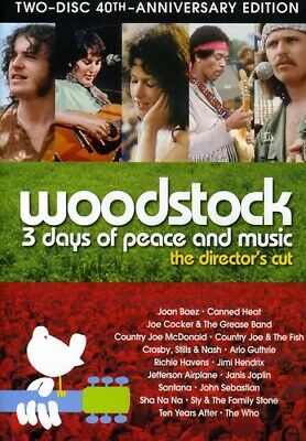Woodstock: 3 Days of Peace & Music [New DVD] Anniversary Edition, Director's C