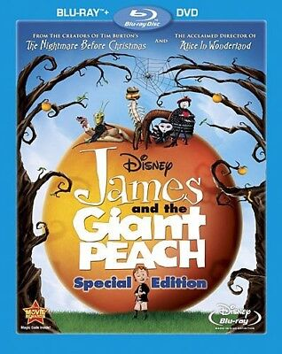 James and the Giant Peach [New Blu-ray] With DVD, Special Edition, Subtitled,