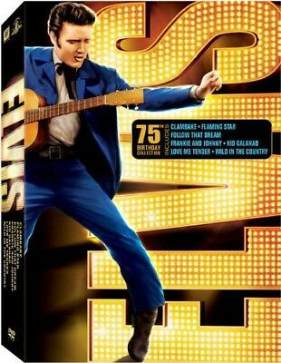 Elvis: 75th Birthday Collection [7 Discs] DVD Region 1 WS