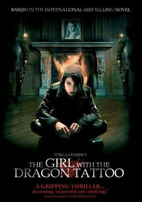 The Girl With the Dragon Tattoo [New DVD] Ac-3/Dolby Digital, Dolby, Dubbed, S