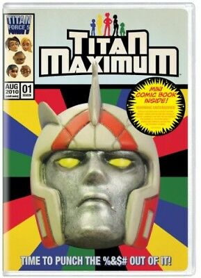 Titan Maximum: Season 1 [New DVD] With Book, Ac-3/Dolby Digital, Dolby, Eco Am