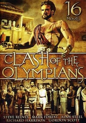 Clash of the Olympians (16 Movies) [New DVD] Boxed Set