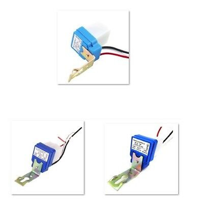 1PCS AC DC12V 24V 220V 10A Auto On Off Photocell Street Light Sensor Switch