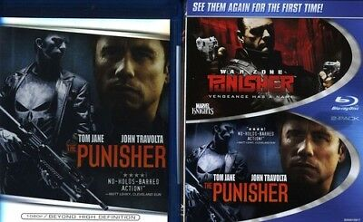 The Punisher / Punisher: War Zone [New Blu-ray] Widescreen