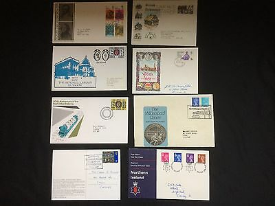 Eight First Day Covers (5)