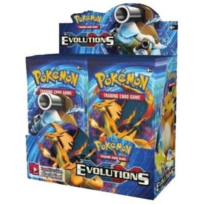 POKEMON TCG XY Evolutions Booster Box - FREE SHIPPING - Factory Sealed 36 Packs