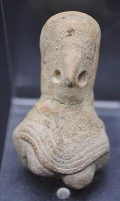 Rare Indus Valley Fertility Idol Torso From The Harappa Culture 3300-1200 Bc