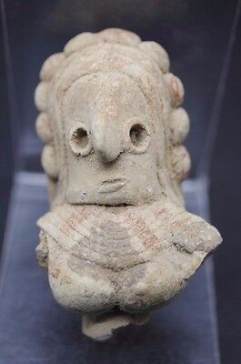 Rare Indus Valley Fertility Idol Torso From The Harappa Culture 3300-1200 Bc.