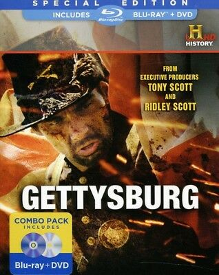 Gettysburg [New Blu-ray] With DVD, Widescreen