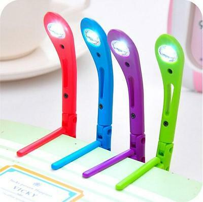 Green Book Reading LED Light Flexible Tiny Clip Night light - Batteries included