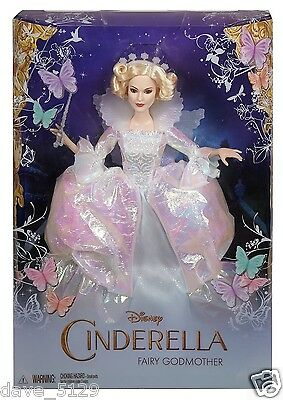 Disney Cinderella Fairy Godmother 12 Inch Doll Collectors Edition GIFT By Mattel