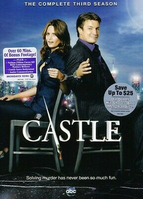 Castle - Castle: The Complete Third Season [New DVD] Ac-3/Dolby Digital, Dolby,