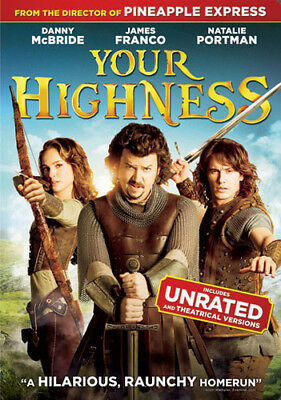 Your Highness [New DVD] Ac-3/Dolby Digital, Dolby, Dubbed, Digital Video Servi