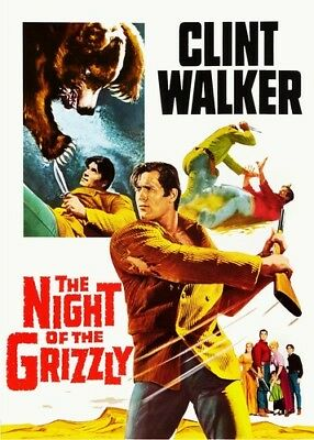 The Night of the Grizzly [New DVD] The Night of the Grizzly [New DVD] Colorize