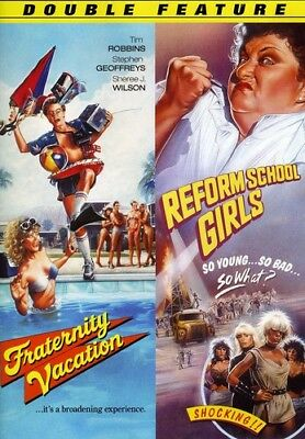 Fraternity Vacation & Reform School Girls [New DVD] Colorized, Mono Sound, Wid