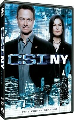 CSI: NY: The Eighth Season [New DVD] Boxed Set, Dolby, Subtitled, Widescreen,