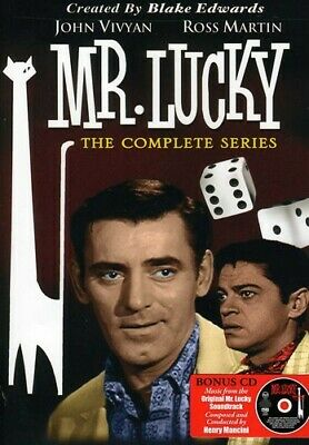 Mr. Lucky: The Complete Series [4 Discs] DVD Region 1