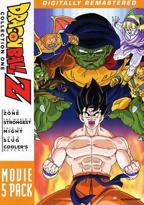 DragonBall Z: Movie 4 Pack - Collection One [5 Discs DVD Region 1