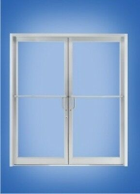 ALUMINUM STOREFRONT DOOR & FRAME(CLEAR ANODIZED FINISH) for studentgrade