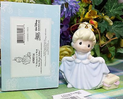 Enesco Precious Moments Cinderella ornament 2006 artist signed