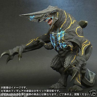 X-PLUS Large Monsters Series Pacific Rim Knife Head Toy RIC Limited Kaiju Japan