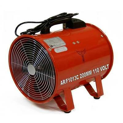 """Fume Dust Extractor Ducting Fan 200mm 8"""" Air Ventilation Extraction 110 V Volt"""