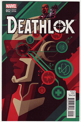 DEATHLOK #2 Tom Whalen 1:25 Variant *NM* Marvel
