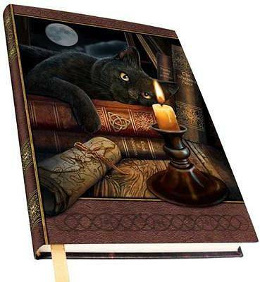 "Witching Hour Spellbook/Journal ~ Black Cat    5"" x 7"""