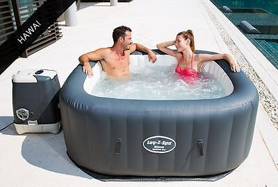 2017 Lay-Z-Spa Hawaii Hydrojet Pro spa Hot Tub (4-6 Person)
