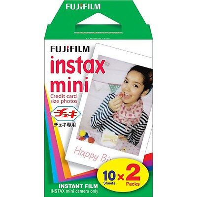 Fujifilm Instax Mini 90 8 7S 50S 25 Fresh Picture Instant Film - 20 Prints