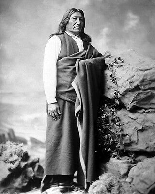 Native American Indian CHIEF SPOTTED TAIL Glossy 5x7 Photo Brule Lakota Print