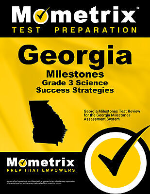 Georgia Milestones Grade 3 Science Success Strategies Study Guide