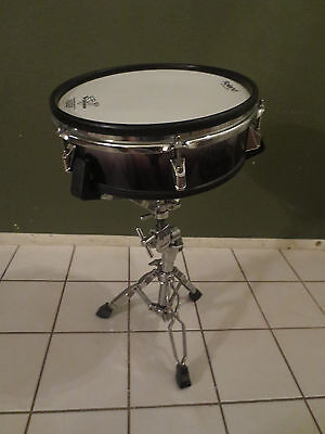 """Roland PD-125 BK 12"""" Mesh Head V Drum w/ Snare Stand"""