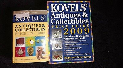 Kovels' Antiques and Collectibles Price Guides (2006 and 2009)