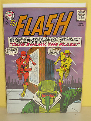 THE FLASH #147 - 2nd Reverse Flash - (DC, 1964) - Professor Zoom - VG+ - Silver