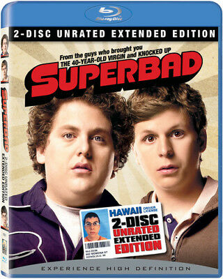 Superbad [New Blu-ray] Extended Edition, Special Edition, Subtitled, Unrated,