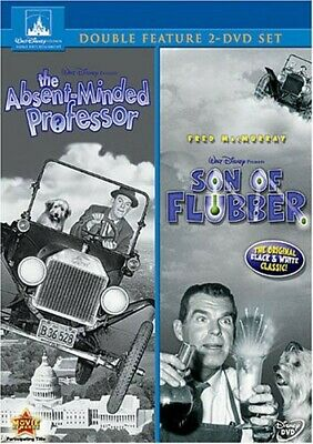 The Absent-Minded Professor / Son of Flubber [New DVD] 2 Pack
