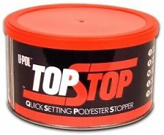 U-POL Top Stop Filler Smooth Finishing Stopper Fine Filler 750ML