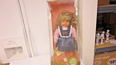"Zapf Creation W Germany 20"" Doll Original package-Katja Weichpuppe Poupee souple"