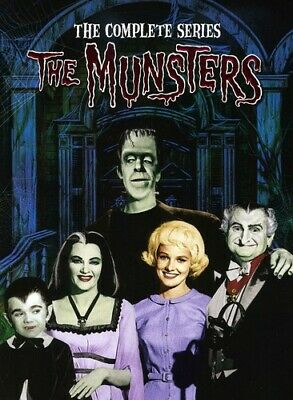 Munsters: Complete Series [New DVD] Boxed Set, Full Frame, Slipsleeve Packagin