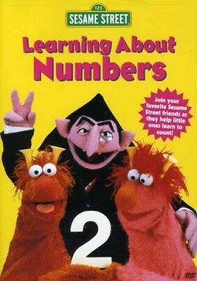 Sesame Street - Learning About Numbers [New DVD]