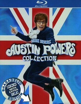 Austin Powers Collection [New Blu-ray] Boxed Set, Special Edition, Subtitled,